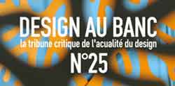Design au Banc n°25