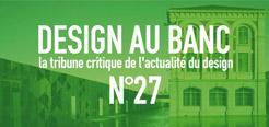 Design au Banc n°27