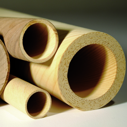 Lignotube tube placage bois